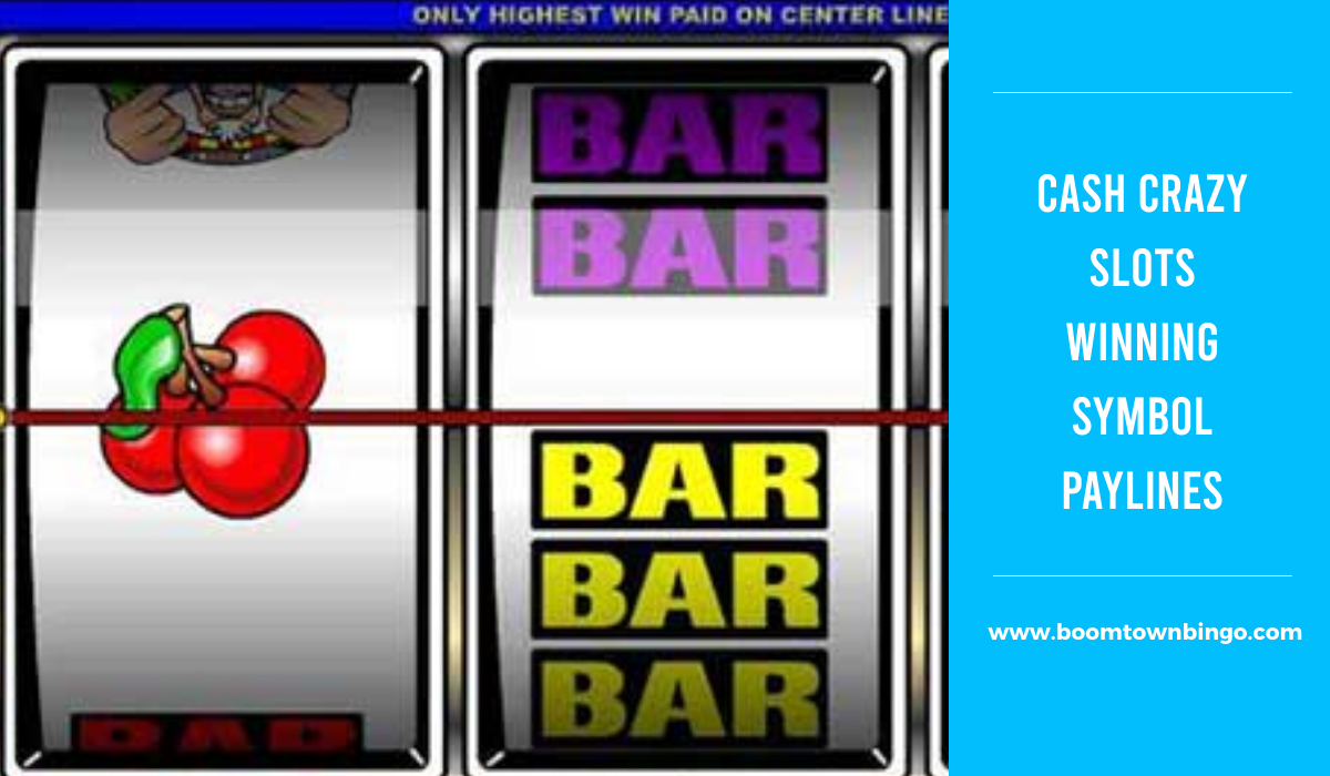 Cash Crazy Slots Symbol winning Paylines