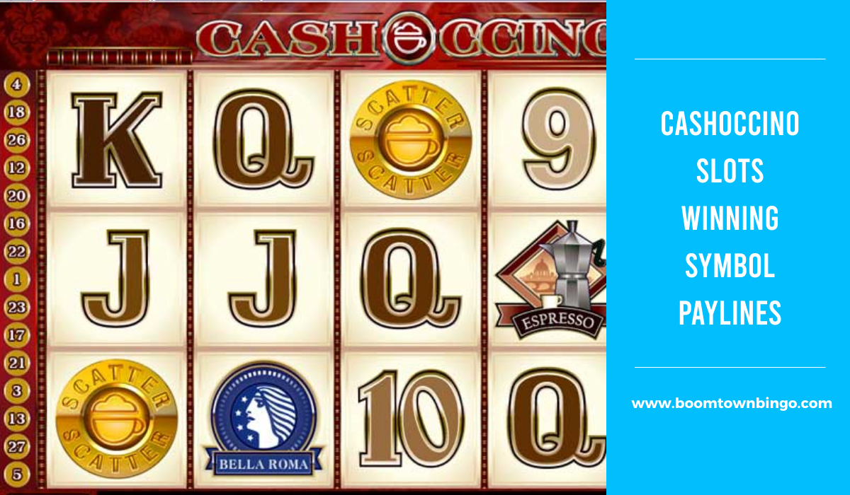CashOccino Slots Symbol winning Paylines