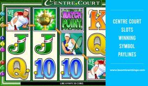 Centre Court Slots Symbol winning Paylines