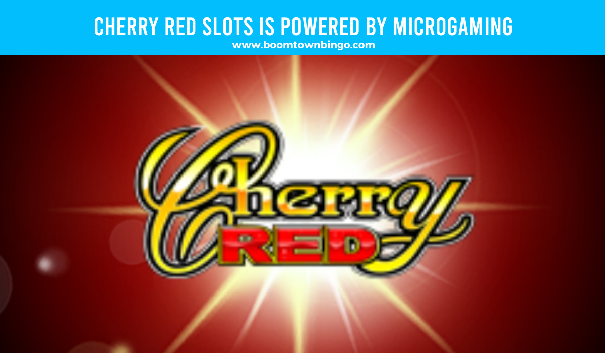 Microgaming powers Cherry Red Slots