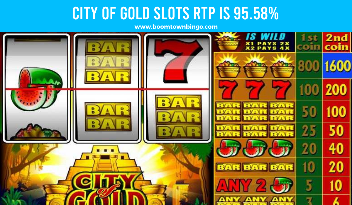 City of Gold Slots Return to player