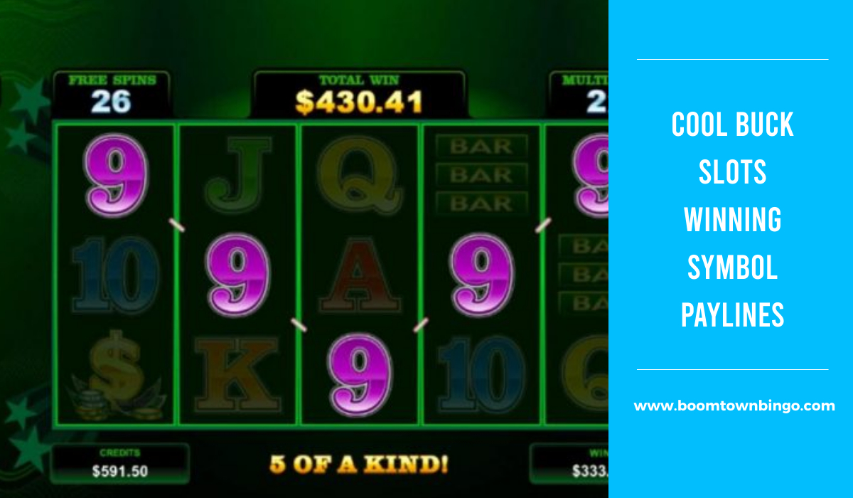 Cool Buck Slots Symbol winning Paylines