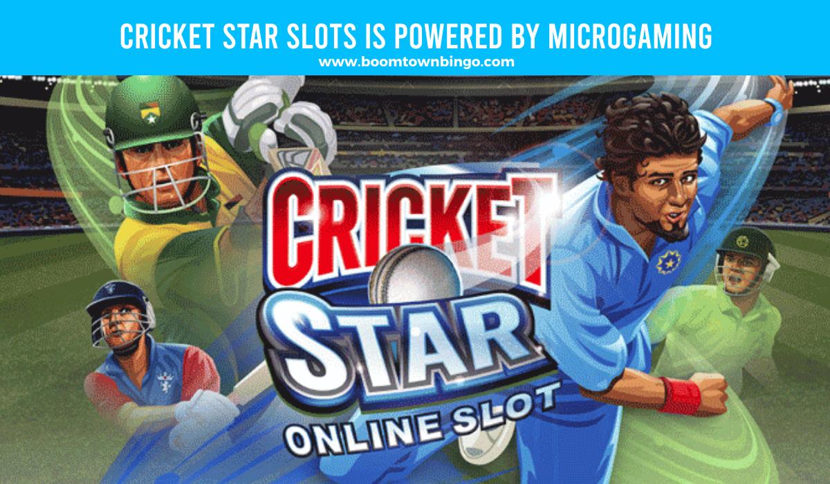 Microgaming powers Cricket Star Slots