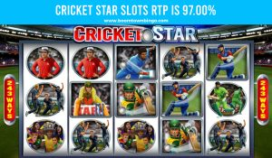 Cricket Star Slots Return to player