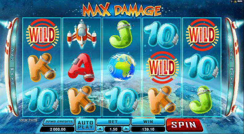 Max Damage Slot Gameplay