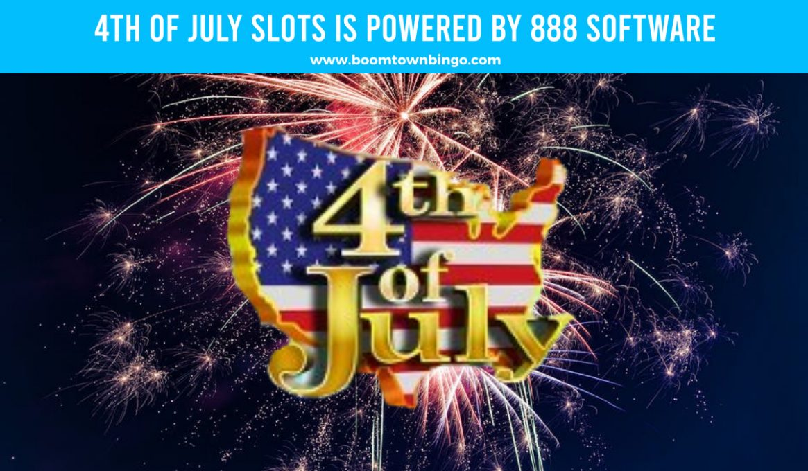 4th of July Slots made by 888 Software