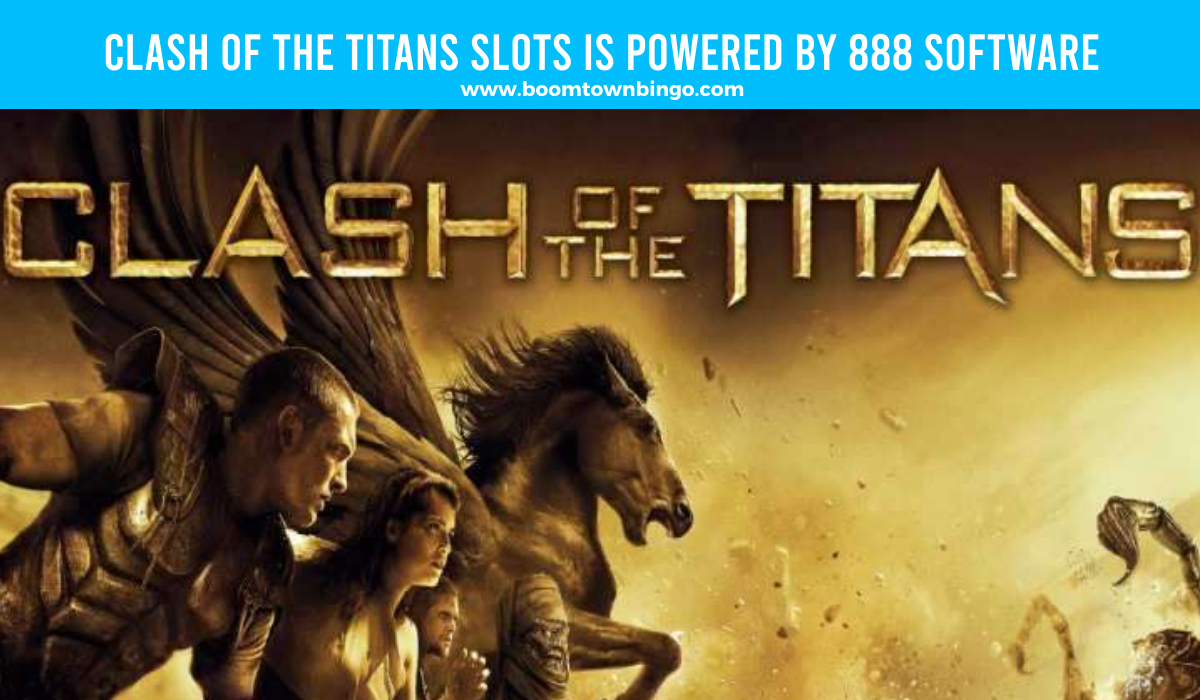 888 Software powers Clash of the Titans Slots