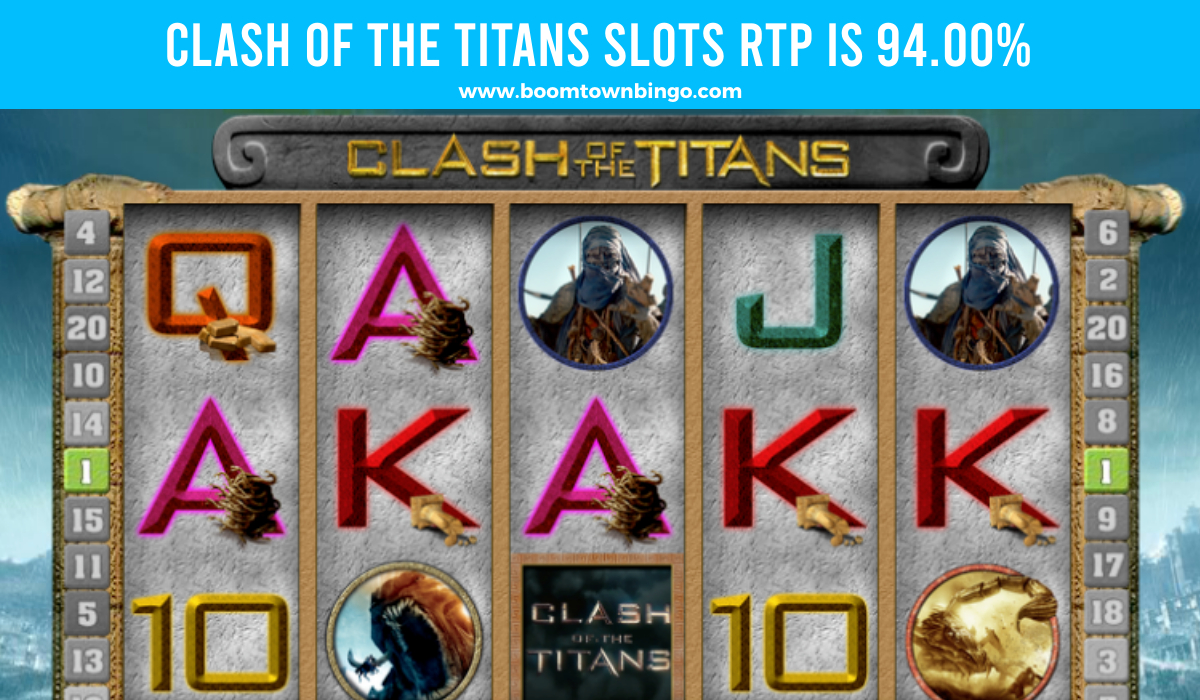 Clash of the Titans Slots Return to player