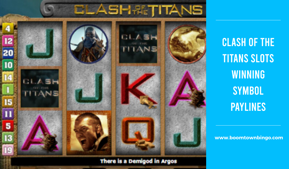 Clash of the Titans Slots Symbol winning Paylines
