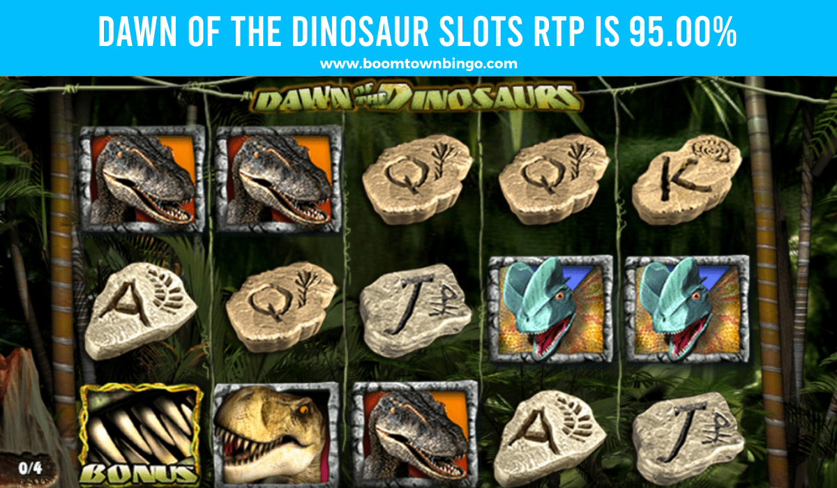 Dawn of the Dinosaur Slots Return to player