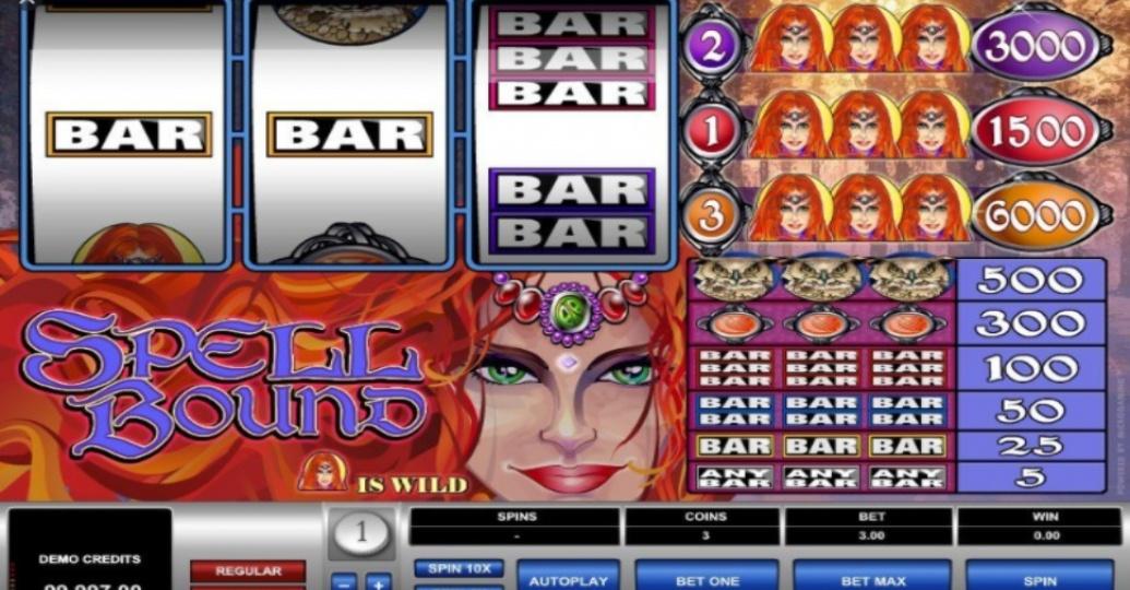 Spellbound Slots Reels