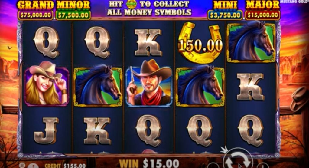 Mustang Gold 5 Reel Slots Game