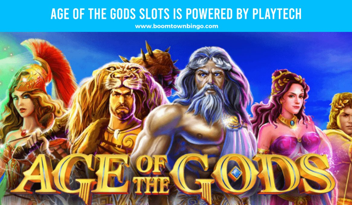 Age of the Gods Slots made by Playtech