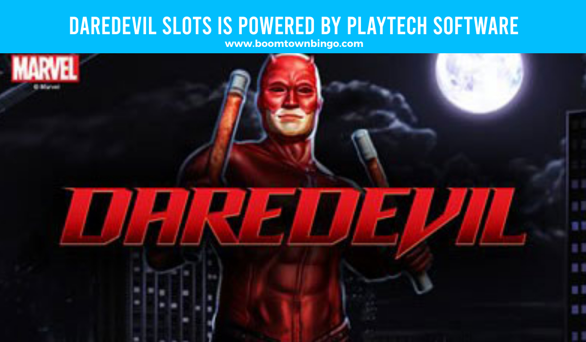 Playtech Software powers Daredevil Slots
