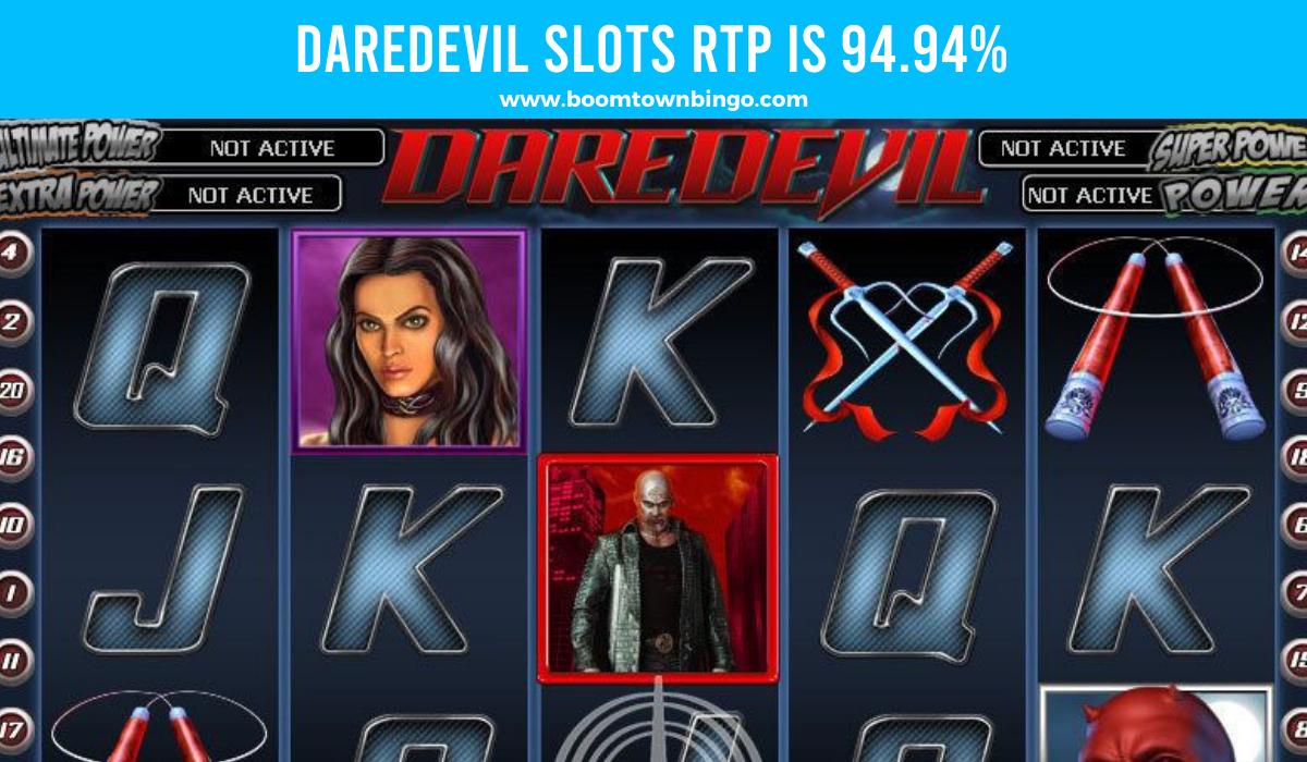 Daredevil Slots Return to player