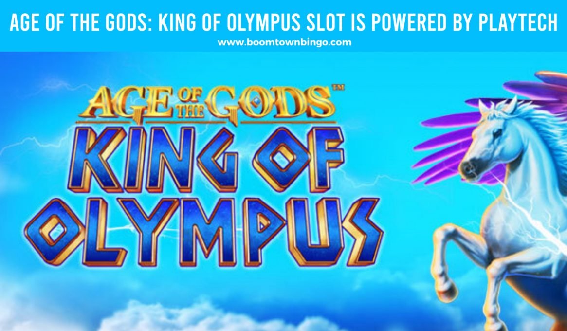 Age of the Gods King of Olympus Slot made by Playtech