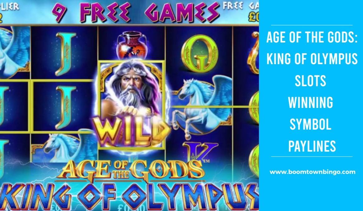 Age of the Gods King of Olympus Slot Paylines