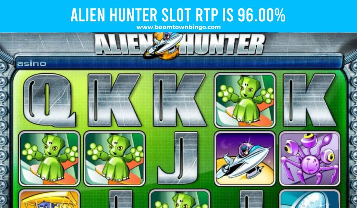 Alien Hunter Slot Return to player
