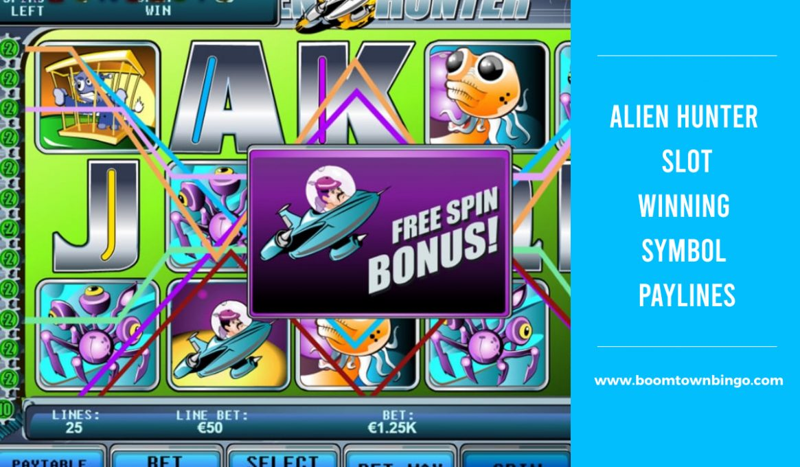 Alien Hunter Slot Paylines