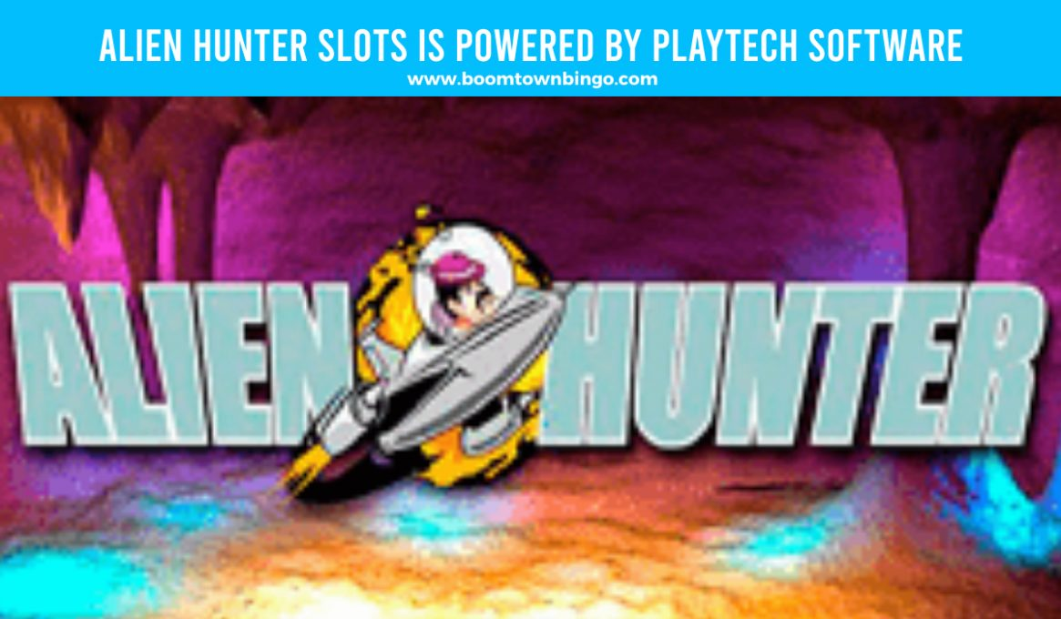 Alien Hunter Slots made by Playtech software