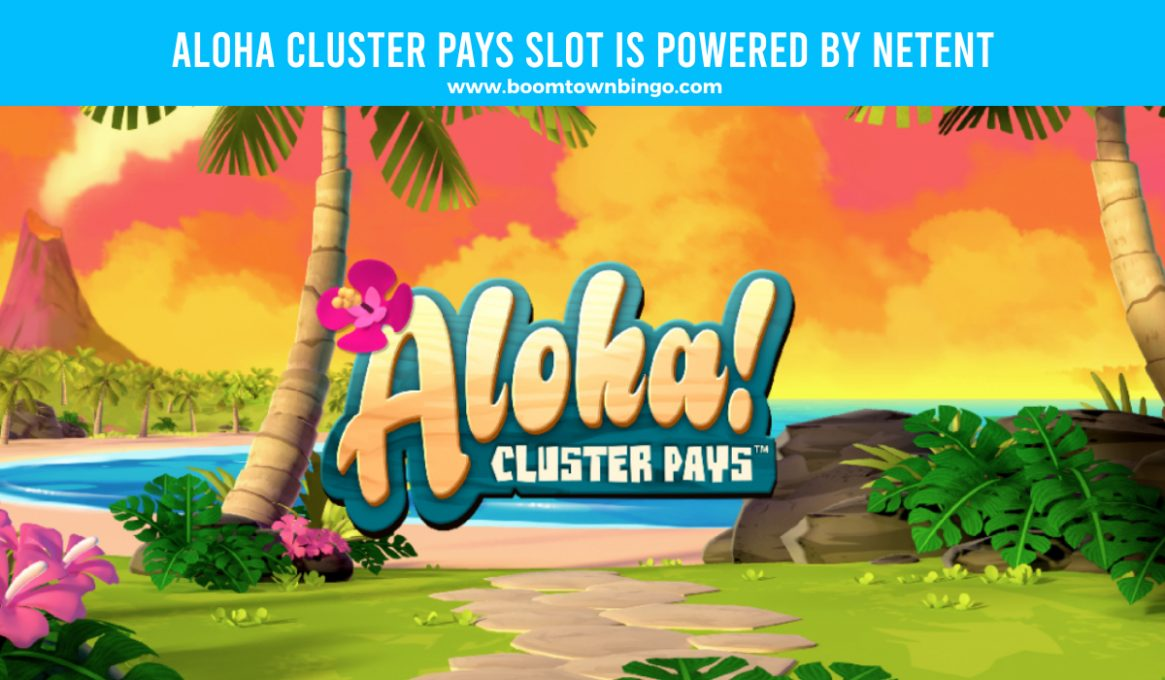 Aloha Cluster Pays Slot Machine by Netent