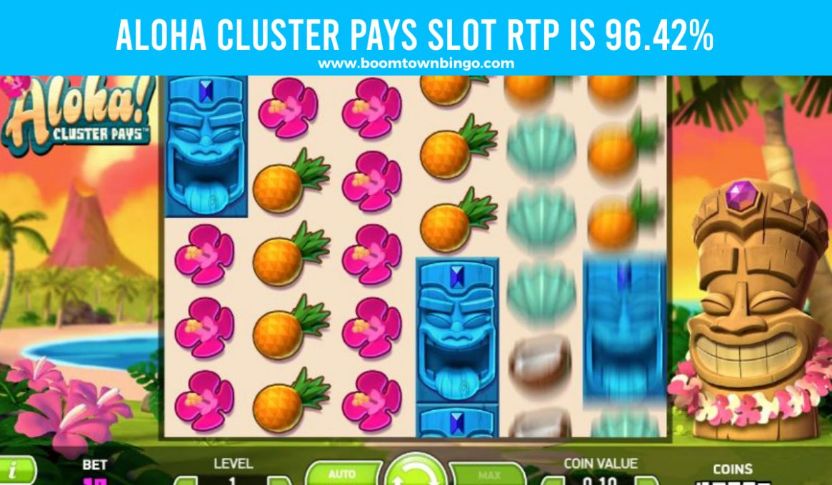 Aloha Cluster Pays Slot Return to player