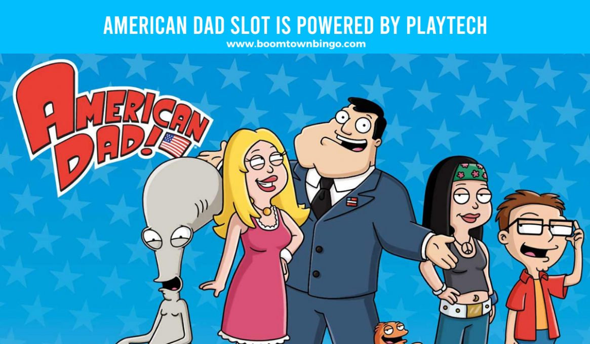 American Dad Slot made by Playtech