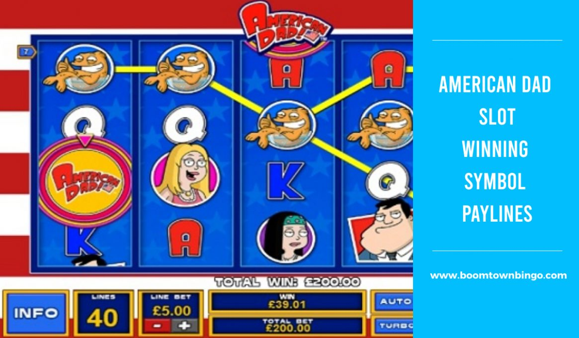 American Dad Slot Paylines