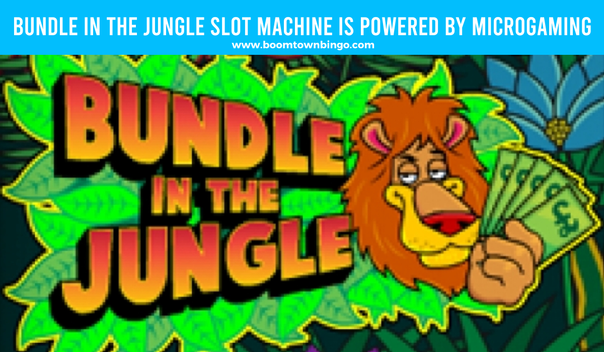 Bundle in the Jungle Slot Machine is made by Microgaming