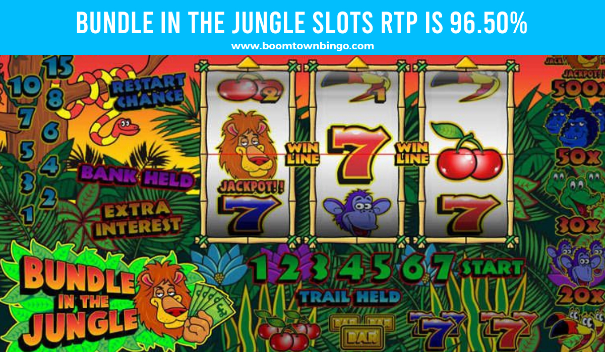 Bundle in the Jungle Slots Return to player