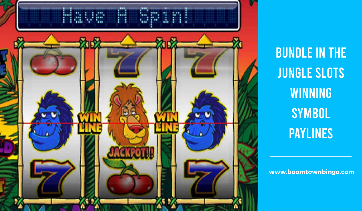 Bundle in the Jungle Slots Symbol winning Paylines