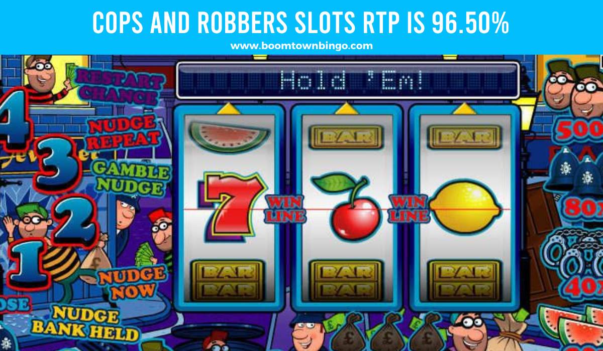 Cops and Robbers Slots Return to player