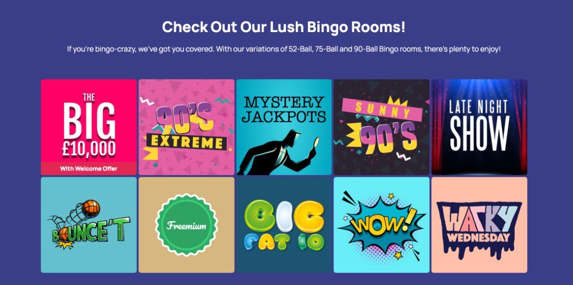 mint bingo rooms