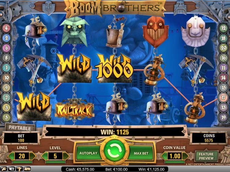 Boom Brothers Slot Screenshot