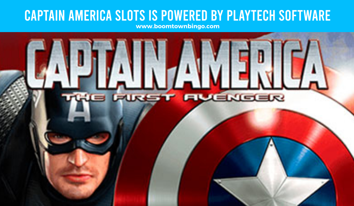 Captain America Slots is made by Playtech Software