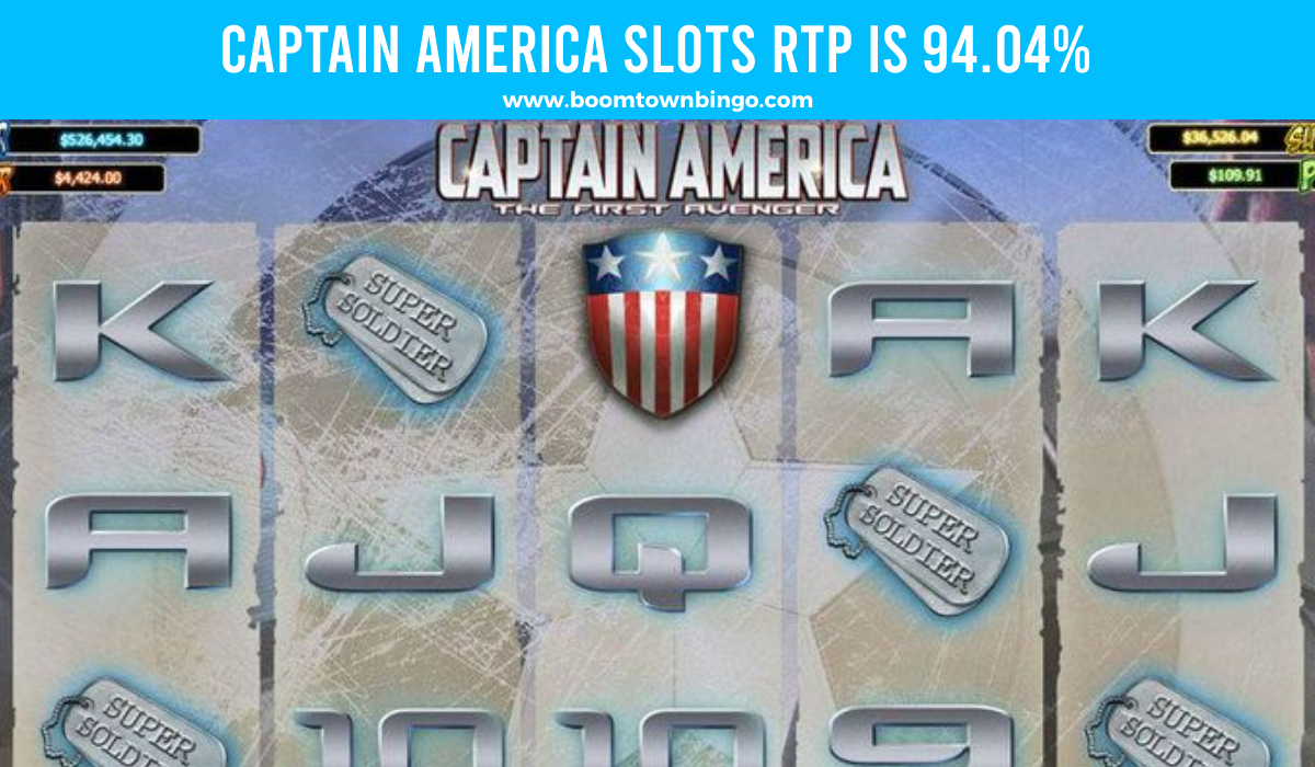 Captain America Slots Return to player