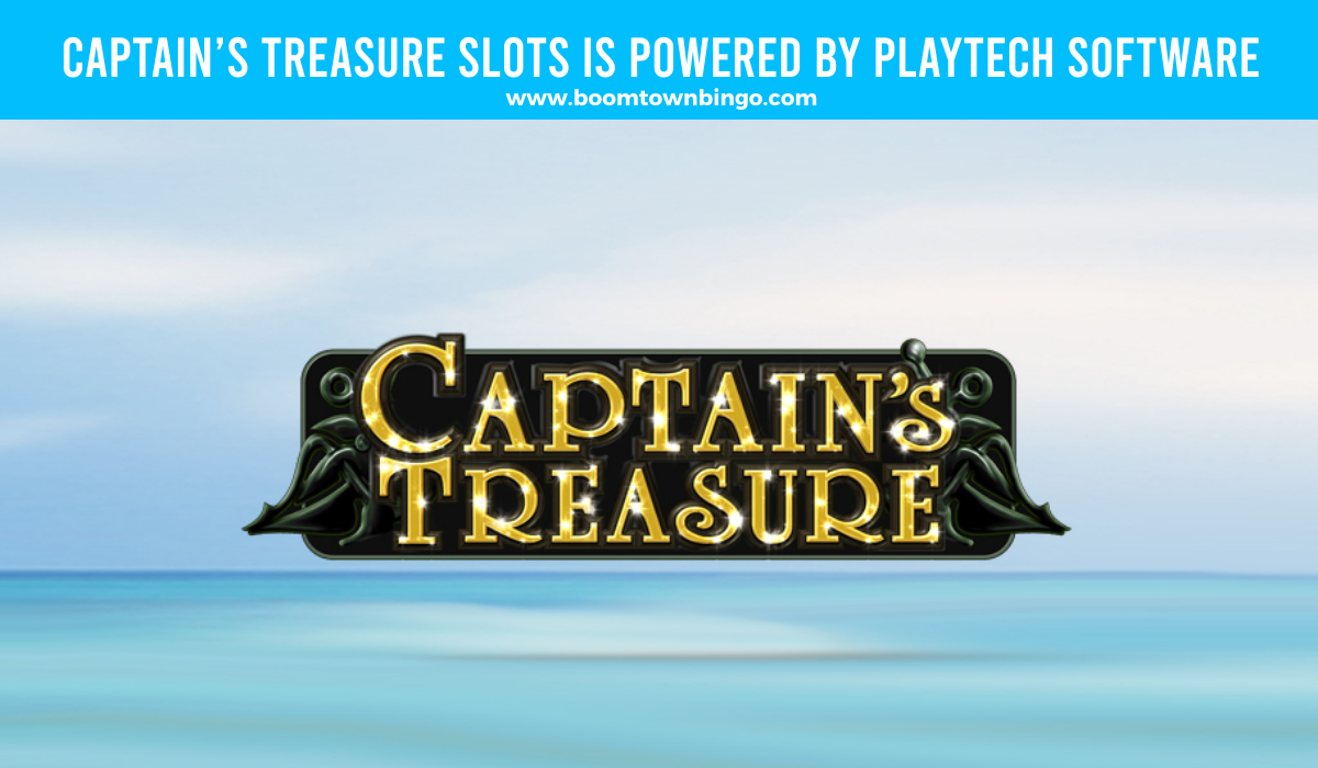 Captain's Treasure Slots is made by Playtech Software