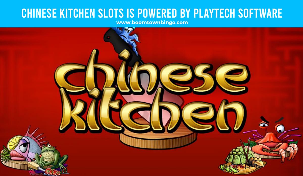 Playtech Software powers Chinese Kitchen Slots
