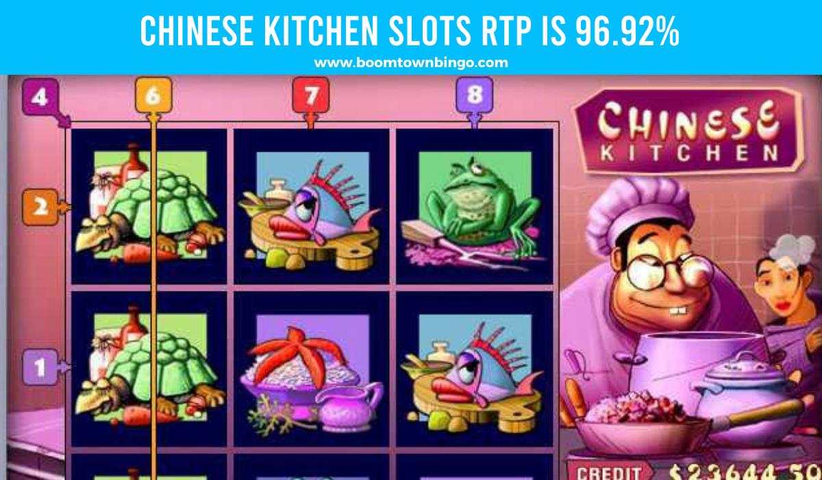 Chinese Kitchen Slots Return to player