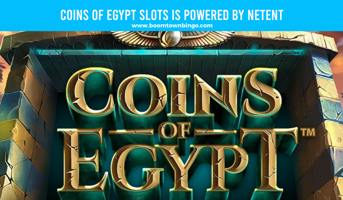 Netent powers Coins of Egypt Slots