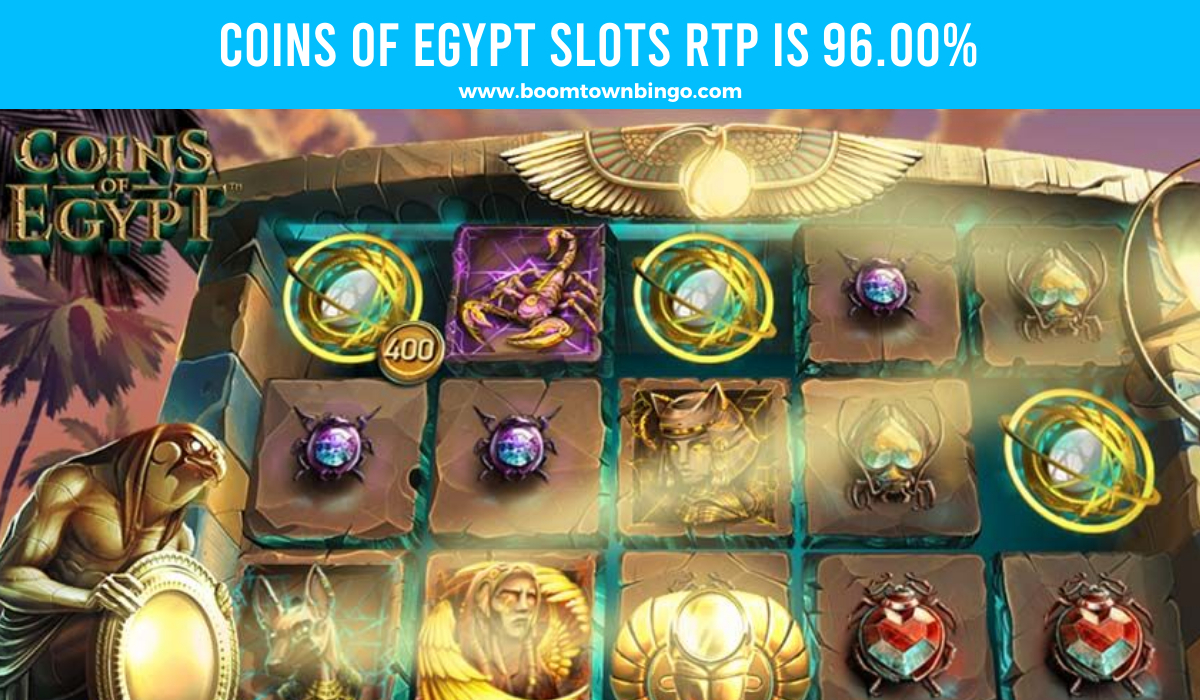 Coins of Egypt Slots Return to player