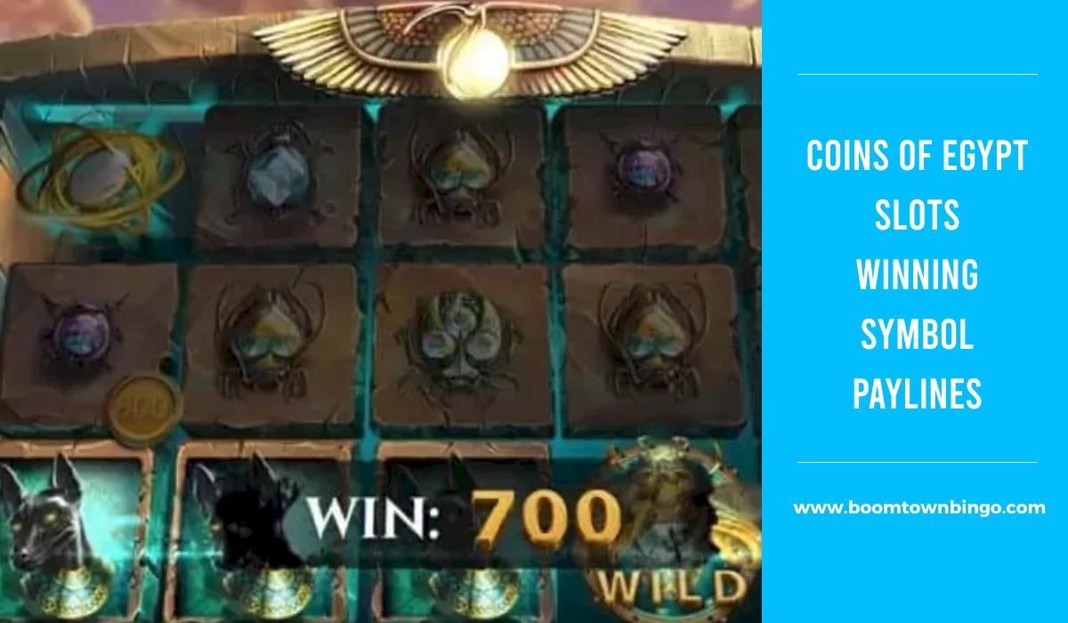 Coins of Egypt Slots Symbol winning Paylines