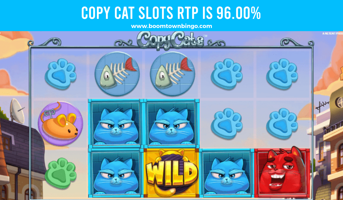 Copy Cat Slots Return to player