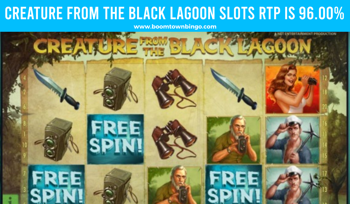 Creature from the Black Lagoon Slots Return to player
