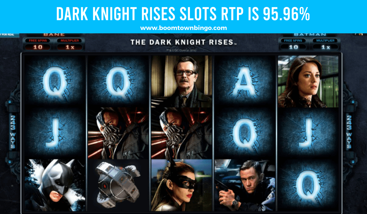 Dark Knight Rises Slots Return to player