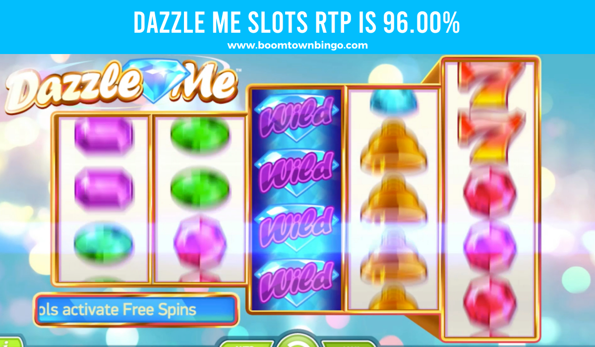 Dazzle Me Slots Return to player