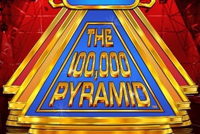 100,000 Pyramid Slots Logo