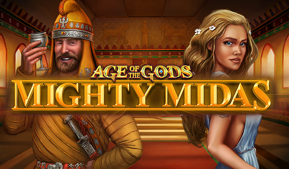What is Age of the Gods Mighty Midas Slot
