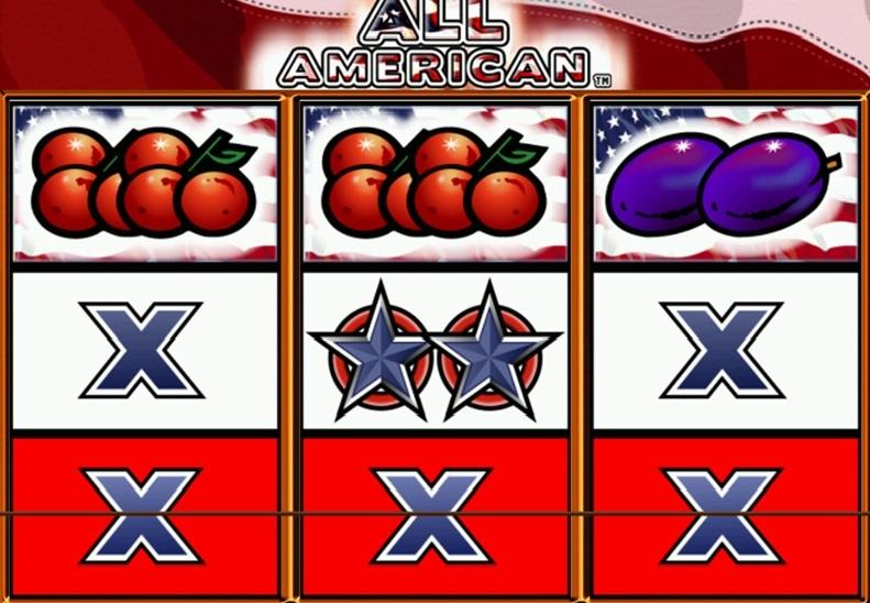 All American Slot Machine Paylines