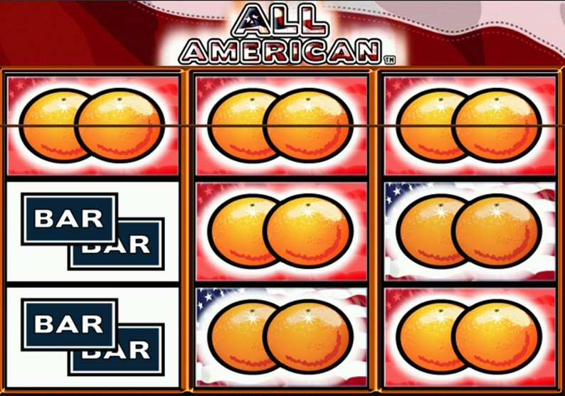All American Slot Machine Winning